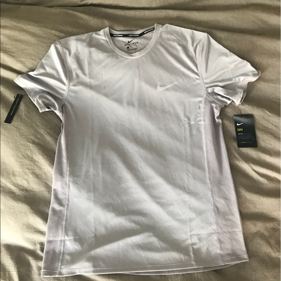 0ac01cca Nike Shirts | Nwt Mens Gray Running Drifit T Shirt | Poshmark